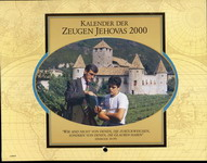 Kalender der Zeugen Jehovas 2000