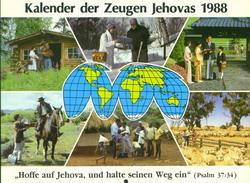 Kalender der Zeugen Jehovas 1988