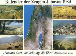 Kalender der Zeugen Jehovas 1989