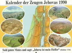 Kalender der Zeugen Jehovas 1990