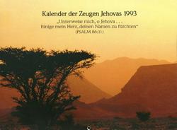 Kalender der Zeugen Jehovas 1993