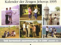 Kalender der Zeugen Jehovas 1995