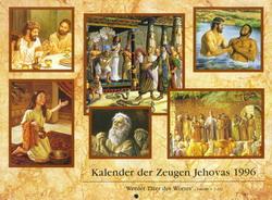 Kalender der Zeugen Jehovas 1996