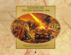 Kalender der Zeugen Jehovas 1998