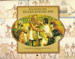 Kalender der Zeugen Jehovas 1999