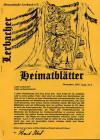 Lerbacher-Heimatblätter Heft Nr.8
