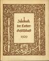 Luther Jahrbuch 1929; München: Chr. Kaiser Verlag