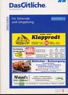 Das Örtliche Für Osterode und Umgebung, 2003/2004