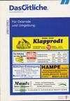 Das Örtliche Für Osterode und Umgebung, 2001/2002