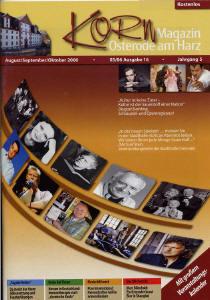 Korn Magazin - Jahrgang 4 - Heft 3