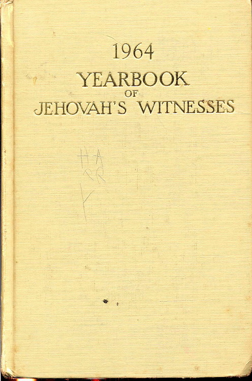 1964 Yearbook of Jehovah's Witnesses