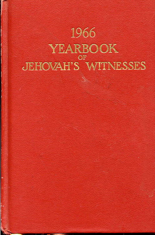 1966 Yearbook of Jehovah's Witnesses