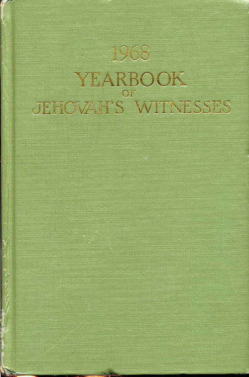 1968 Yearbook of Jehovah's Witnesses