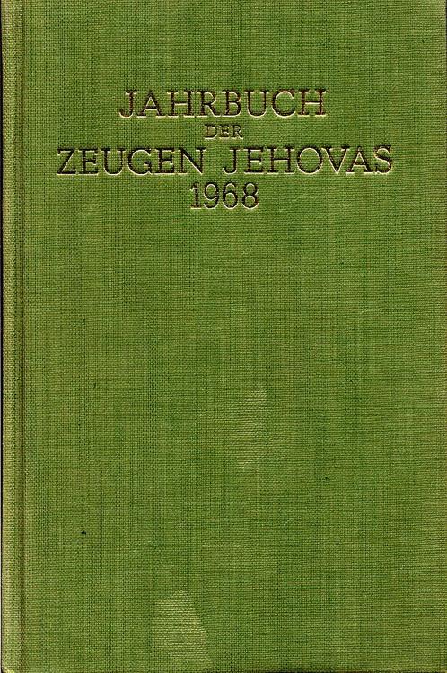 Jahrbuch der Zeugen Jehovas 1968