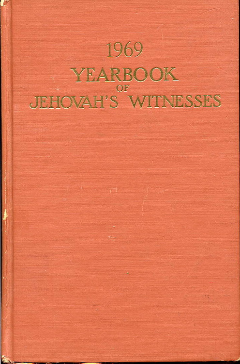 1969 Yearbook of Jehovah's Witnesses
