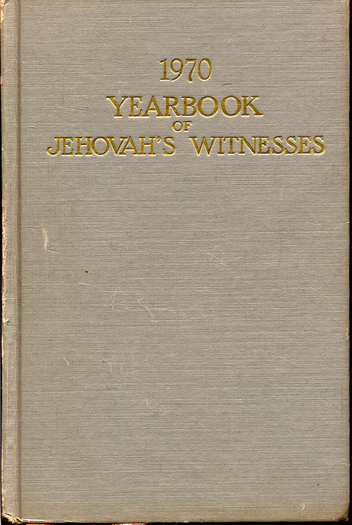 1970 Yearbook of Jehovah's Witnesses
