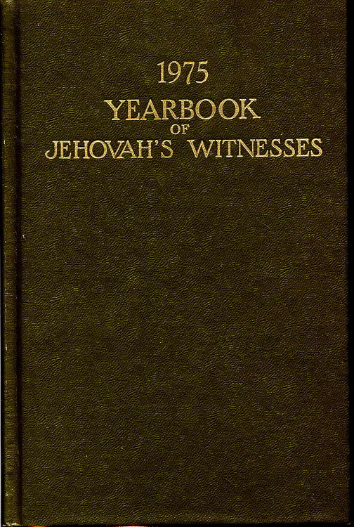 1975 Yearbook of Jehovah's Witnesses