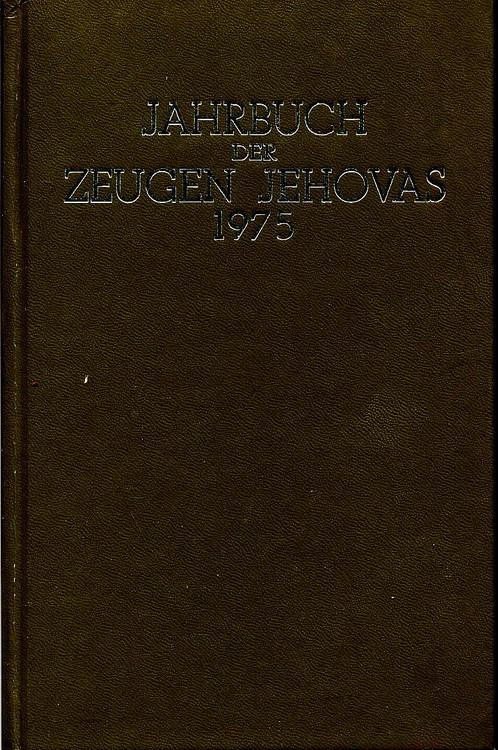 Jahrbuch der Zeugen Jehovas 1975