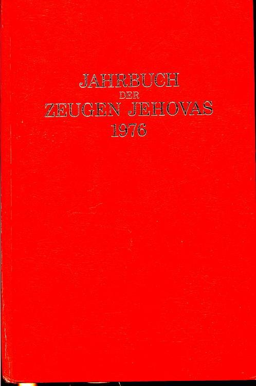 Jahrbuch der Zeugen Jehovas 1976
