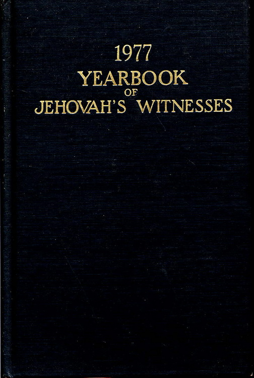 1977 Yearbook of Jehovah's Witnesses