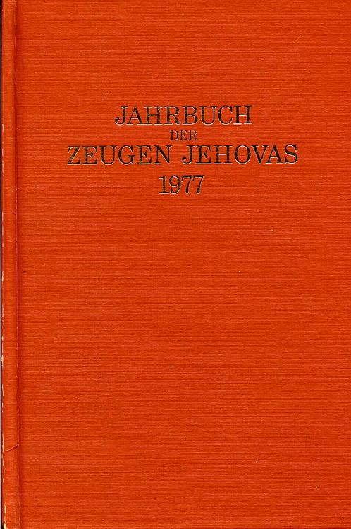 Jahrbuch der Zeugen Jehovas 1977