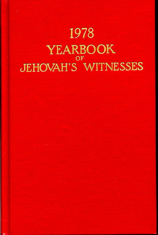 1978 Yearbook of Jehovah's Witnesses