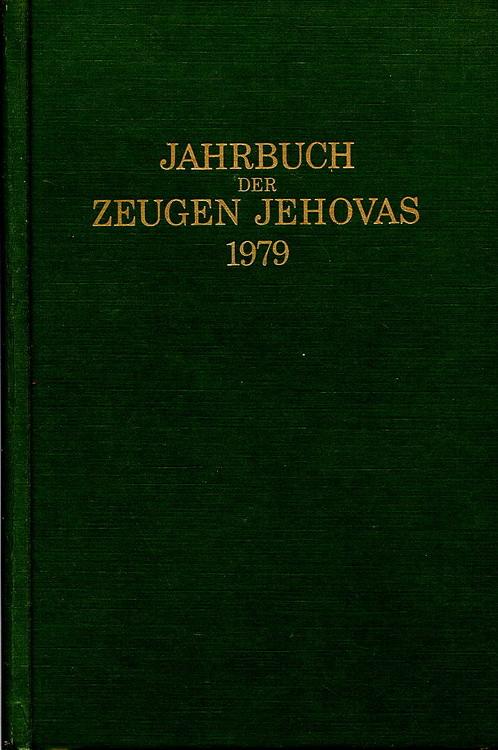 Jahrbuch der Zeugen Jehovas 1979