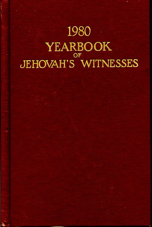1980 Yearbook of Jehovah's Witnesses