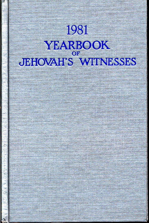 1981 Yearbook of Jehovah's Witnesses
