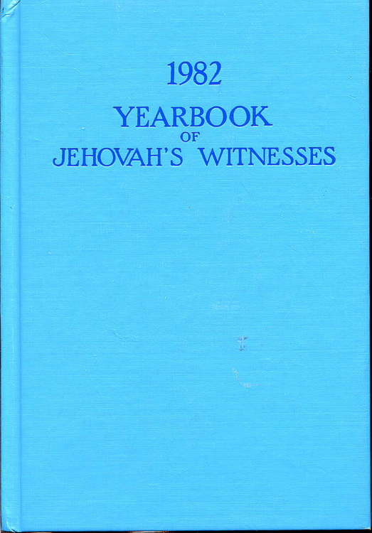 1982 Yearbook of Jehovah's Witnesses