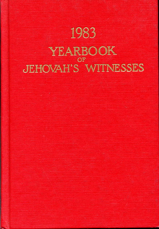 1983 Yearbook of Jehovah's Witnesses