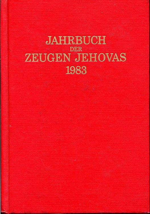 Jahrbuch der Zeugen Jehovas 1983