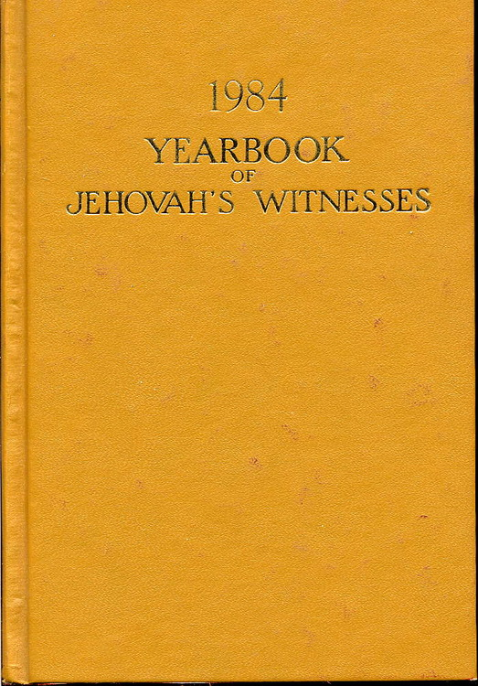 1984 Yearbook of Jehovah's Witnesses