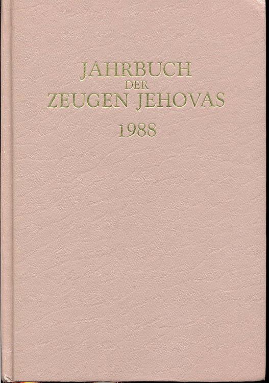Jahrbuch der Zeugen Jehovas 1988