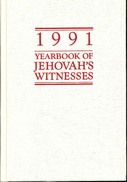 1991 Yearbook of Jehovah's Witnesses