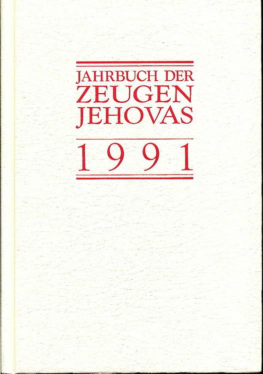 Jahrbuch der Zeugen Jehovas 1991