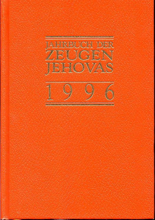 Jahrbuch der Zeugen Jehovas 1996