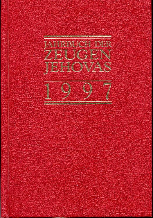 Jahrbuch der Zeugen Jehovas 1997