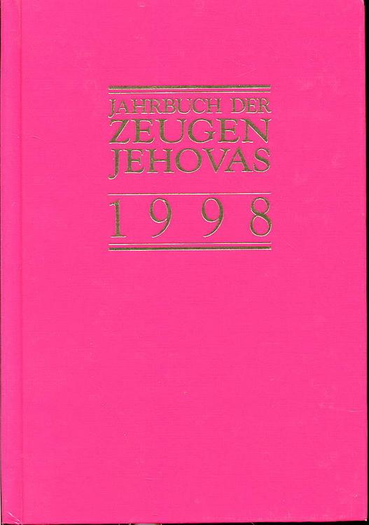 Jahrbuch der Zeugen Jehovas 1998