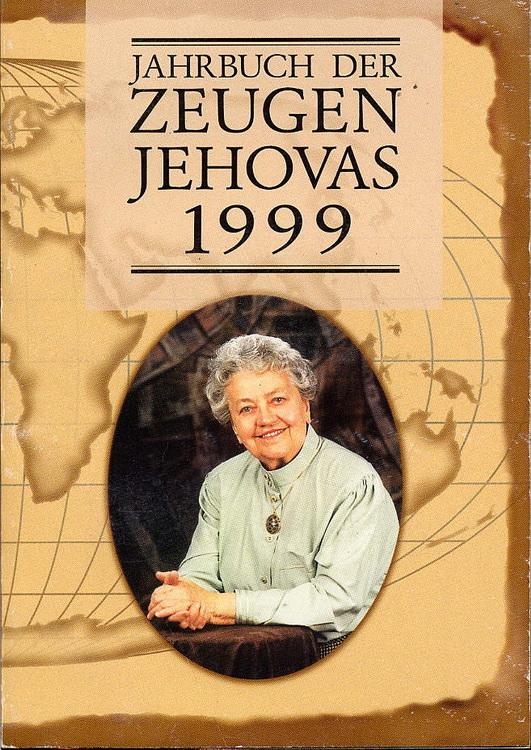 Jahrbuch der Zeugen Jehovas 1999