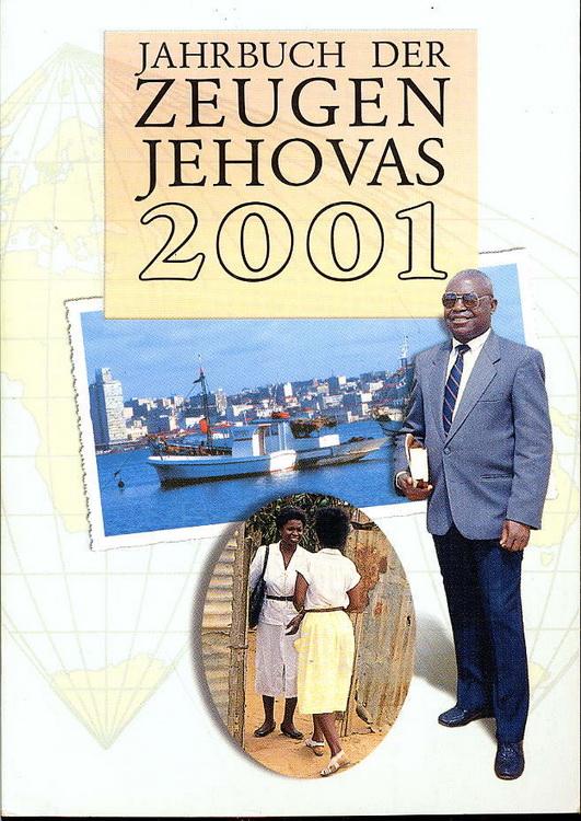 Jahrbuch der Zeugen Jehovas 2001