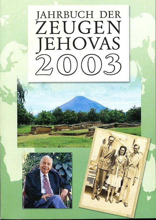 Jahrbuch der Zeugen Jehovas 2003