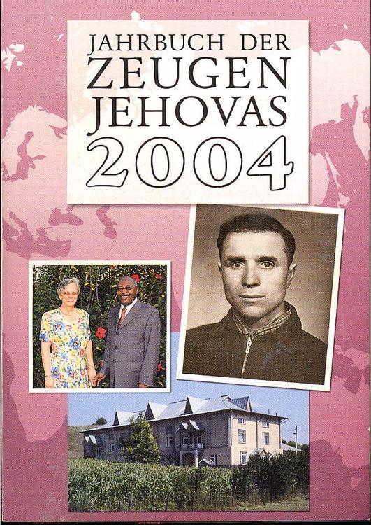Jahrbuch der Zeugen Jehovas 2004